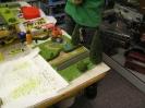 Kinderworkshop beim Modellbahnhändler 2010